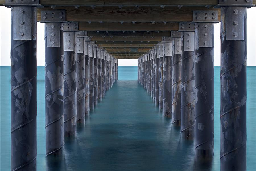 Discover Original Art by Katherine Gendreau | Under the Pier photography | Art for Sale Online at UGallery