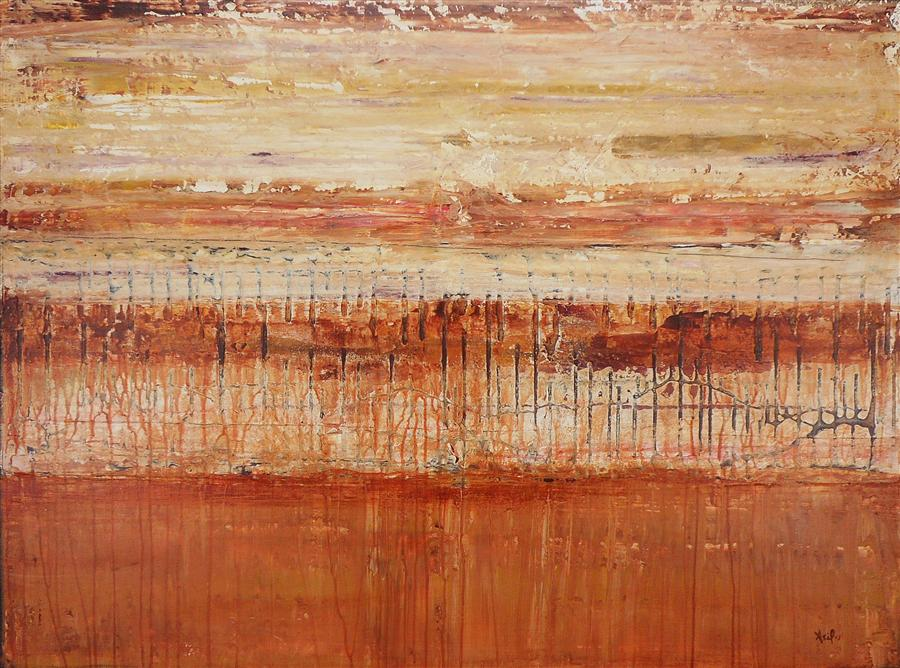 Original art for sale at UGallery.com | Sand Storm by LISA CARNEY | $975 | Acrylic painting | 30' h x 40' w | http://www.ugallery.com/acrylic-painting-sand-storm