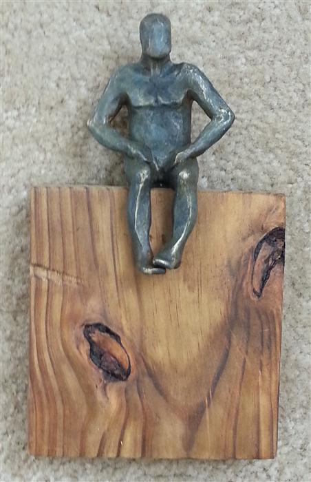 Original art for sale at UGallery.com | U-22  Small Square World of Wood by YELITZA DIAZ | $450 | Sculpture | 10' h x 6' w | http://www.ugallery.com/sculpture-u-22-small-square-world-of-wood