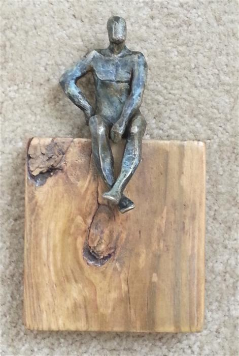 Discover Original Art by Yelitza Diaz | U-23 Small Square World of Wood sculpture | Art for Sale Online at UGallery