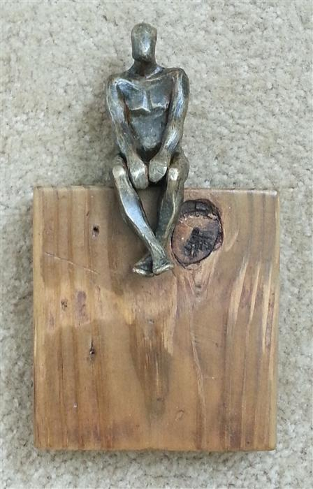 Discover Original Art by Yelitza Diaz | U-24 Small Square World of Wood sculpture | Art for Sale Online at UGallery