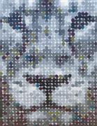 Animals art,Pop art,Representational art,Modern  art,other media,Lion