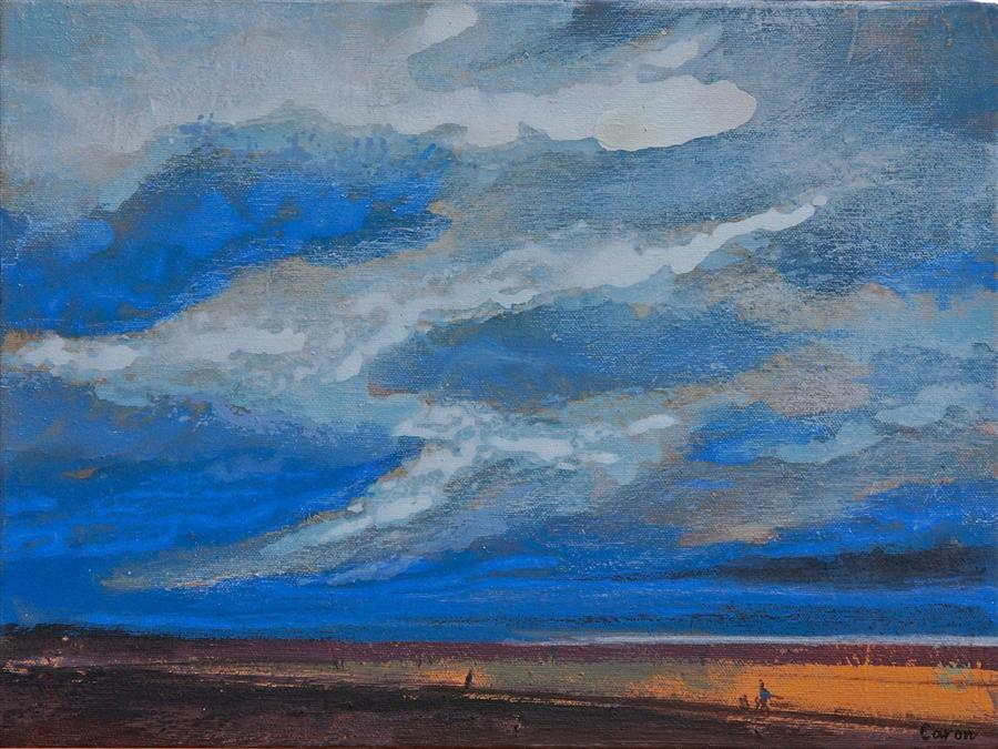 Discover Original Art by Sidonie Caron | Skyscape acrylic painting | Art for Sale Online at UGallery