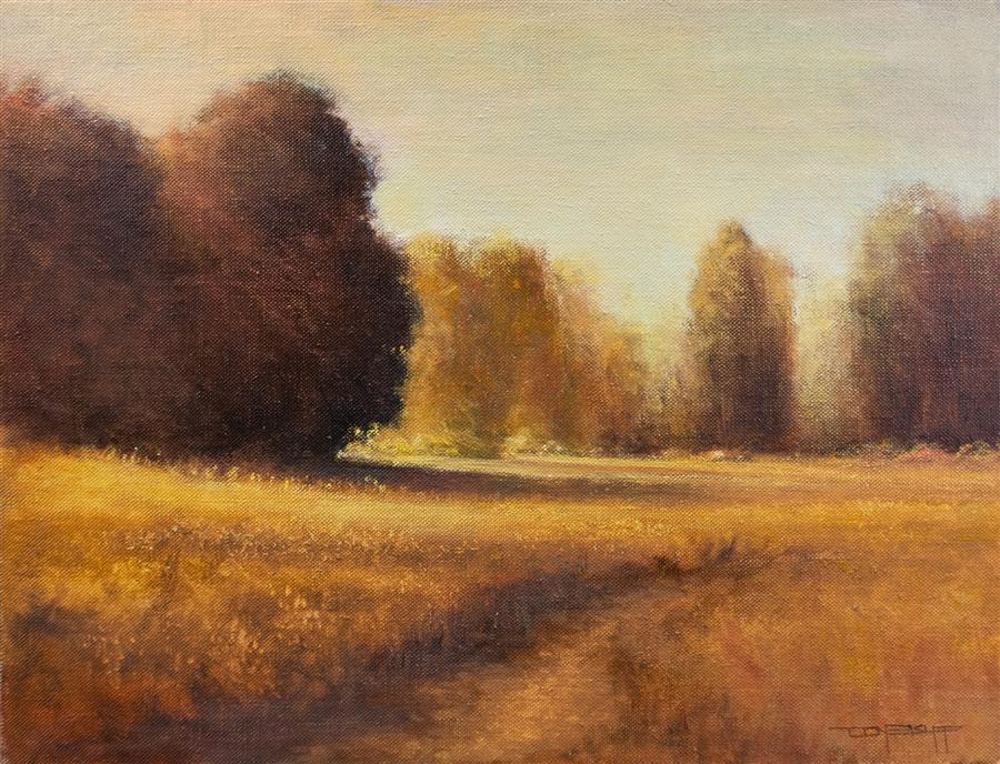 Original art for sale at UGallery.com | Summer Light by DON BISHOP | $1,275 | Oil painting | 16' h x 20' w | http://www.ugallery.com/oil-painting-summer-light