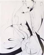 Nudes art,Fashion art,Representational art,Modern  art,oil painting,Sass-o-Frass