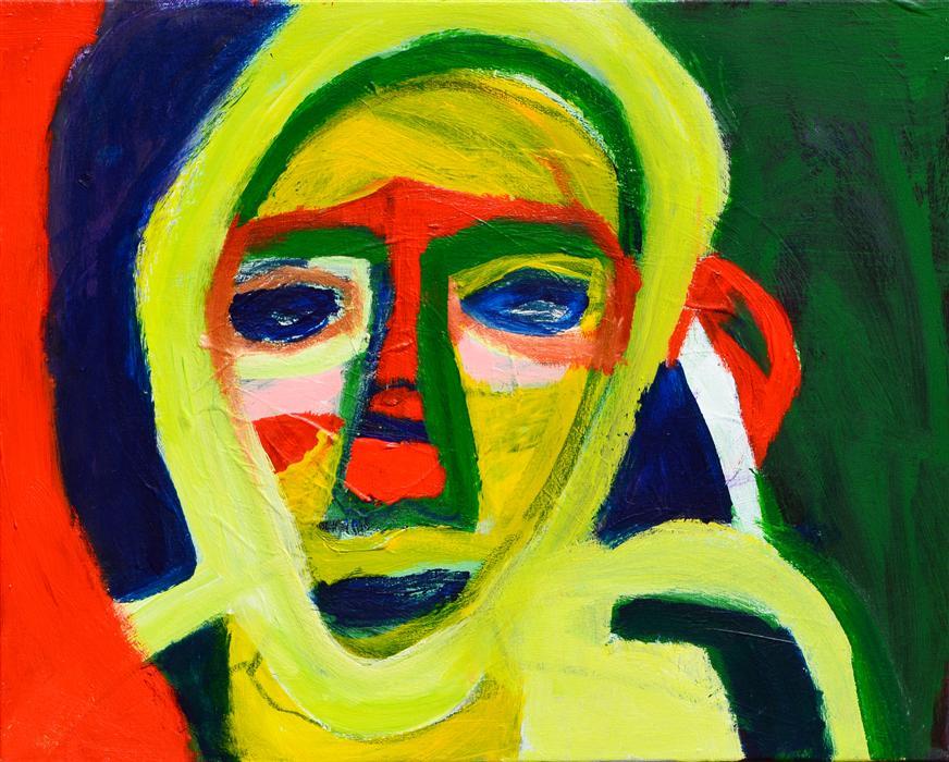 Original art for sale at UGallery.com   Religious Woman by  DESIRÉE MALDONADO   $625   Acrylic painting   16' h x 20' w   http://www.ugallery.com/acrylic-painting-religious-woman