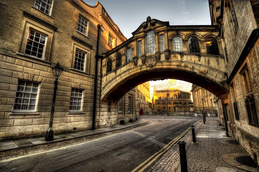 Original art for sale at UGallery.com | Bridge of Sighs, Oxford by NOELLE VISCONTI | $175 |  | ' h x ' w | http://www.ugallery.com/photography-bridge-of-sighs-oxford