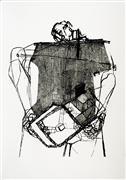 Expressionism art,People art,Street Art art,Representational art,printmaking,Spare Parts - Lack II