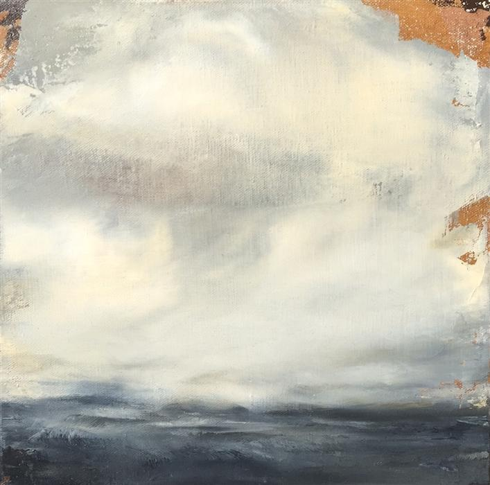 Original art for sale at UGallery.com | The Deep End by FAITH TAYLOR | $400 | Oil painting | 12' h x 12' w | http://www.ugallery.com/oil-painting-the-deep-end