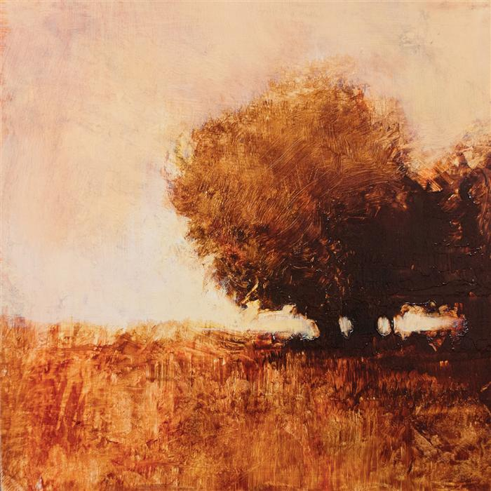 Original art for sale at UGallery.com | Oak Shadows by DON BISHOP | $350 | Acrylic painting | 12' h x 12' w | http://www.ugallery.com/acrylic-painting-oak-shadows