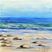 Impressionism art,Seascape art,Representational art,oil painting,Undertones