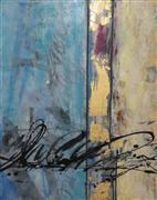 Abstract art,Non-representational art,Modern  art,encaustic artwork,Inner Peace