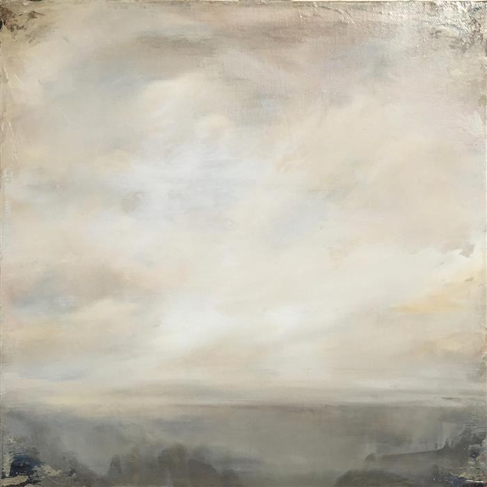 Original art for sale at UGallery.com | Listen Carefully by FAITH TAYLOR | $400 | Oil painting | 12' h x 12' w | http://www.ugallery.com/oil-painting-listen-carefully