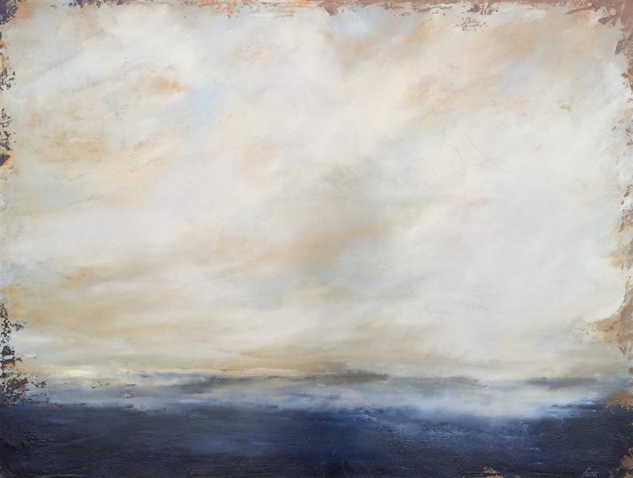 Original art for sale at UGallery.com | Oceans of Dreams by FAITH TAYLOR | $2,075 | Oil painting | 30' h x 40' w | http://www.ugallery.com/oil-painting-oceans-of-dreams