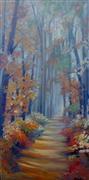 Expressionism art,Fantasy art,Impressionism art,Landscape art,Nature art,Representational art,oil painting,Amber Carbon