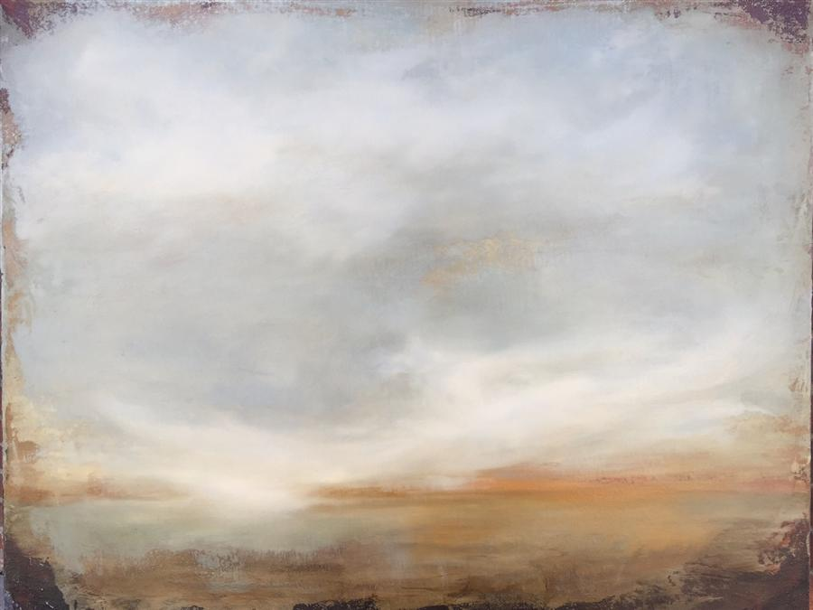 Original art for sale at UGallery.com | Unveiling the Horizon by FAITH TAYLOR | $1,050 | Oil painting | 22' h x 28' w | http://www.ugallery.com/oil-painting-unveiling-the-horizon
