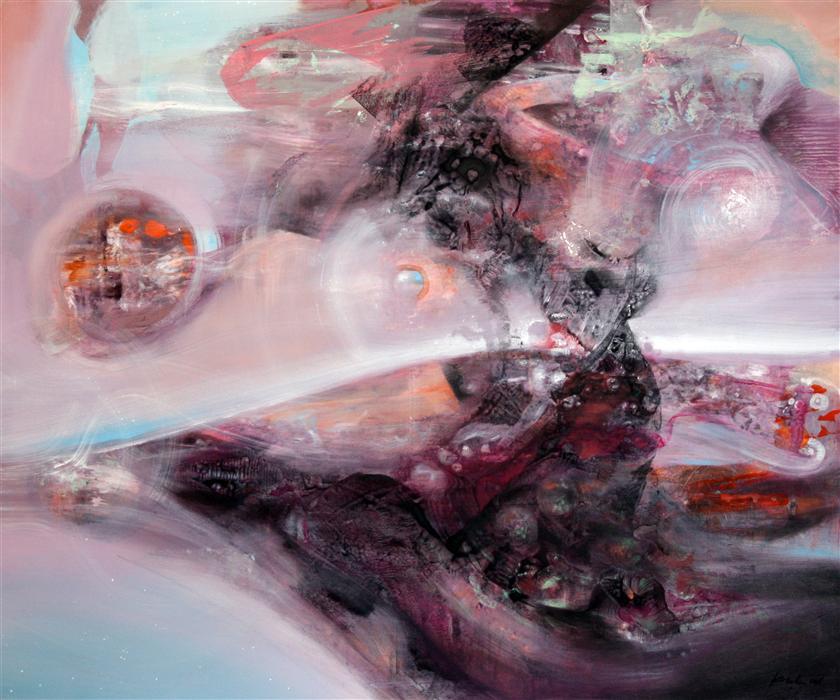 Discover Original Art by Kloska Ovidiu | Soft Diaphane Mindscape  acrylic painting | Art for Sale Online at UGallery