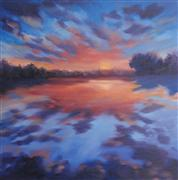 Impressionism art,Seascape art,Representational art,oil painting,Lyrical Elements 2