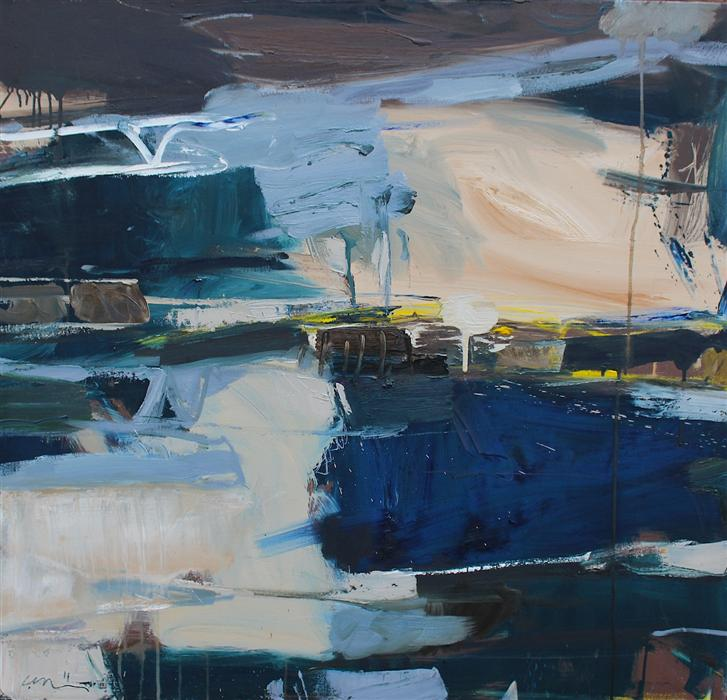 Discover Original Art by Scott Hunter | Untitled 33 oil painting | Art for Sale Online at UGallery