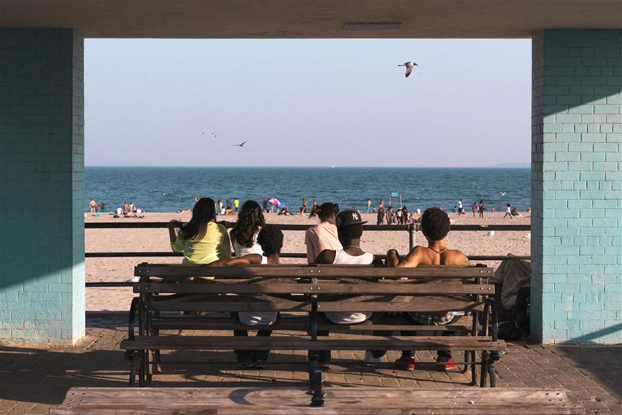 Original art for sale at UGallery.com | Coney Island by RICARDO PERINI | $170 |  | ' h x ' w | http://www.ugallery.com/photography-coney-island-43146