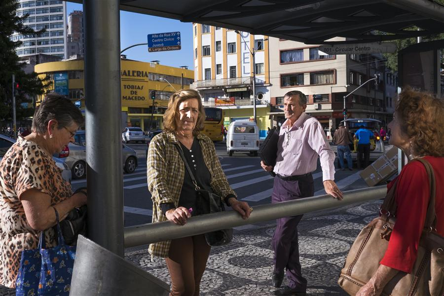 Original art for sale at UGallery.com | Brazilian Bus Stop by RICARDO PERINI | $170 |  | ' h x ' w | http://www.ugallery.com/photography-brazilian-bus-stop