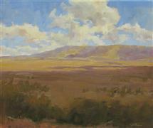 Western art,oil painting,Dancing Shadows