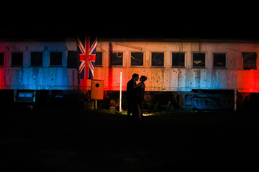 Original art for sale at UGallery.com | Love off the Train by WESLEI BARBA | $175 |  | ' h x ' w | http://www.ugallery.com/photography-love-off-the-train