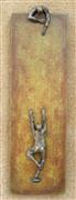 People art,Minimalism art,Representational art,Modern  art,sculpture,U-33 Green Climbers