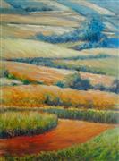 Impressionism art,Landscape art,Representational art,oil painting,Raw Water Tapestries 3