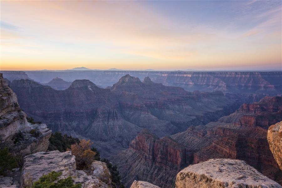 Original art for sale at UGallery.com | North Rim Sunrise 2 - Grand Canyon National Park - Arizona by BRIAN HARIG | $245 |  | ' h x ' w | http://www.ugallery.com/photography-north-rim-sunrise-2-grand-canyon-national-park-arizona