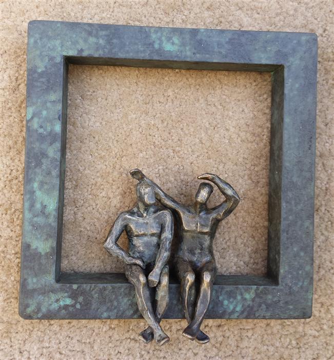 Original art for sale at UGallery.com | U-35  Window Love I by YELITZA DIAZ | $475 | Sculpture | 10' h x 8' w | http://www.ugallery.com/sculpture-u-35-window-love-i