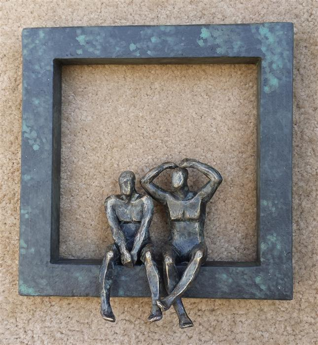 Original art for sale at UGallery.com | U-36  Window Love II by YELITZA DIAZ | $475 | Sculpture | 10' h x 8' w | http://www.ugallery.com/sculpture-u-36-window-love-ii