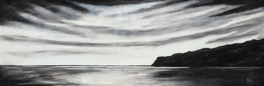 Discover Original Art by Mandy Main   High Contrast II oil painting   Art for Sale Online at UGallery