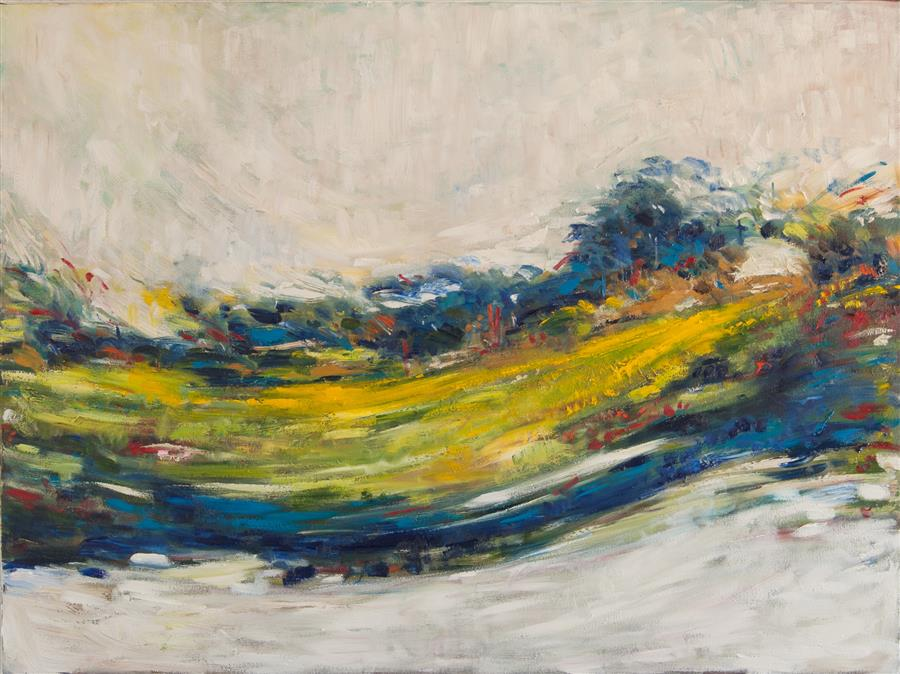 Discover Original Art by Kajal Zaveri | A New Day oil painting | Art for Sale Online at UGallery