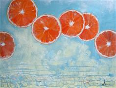 Pop art,Cuisine art,Representational art,oil painting,Valencias for Valentines