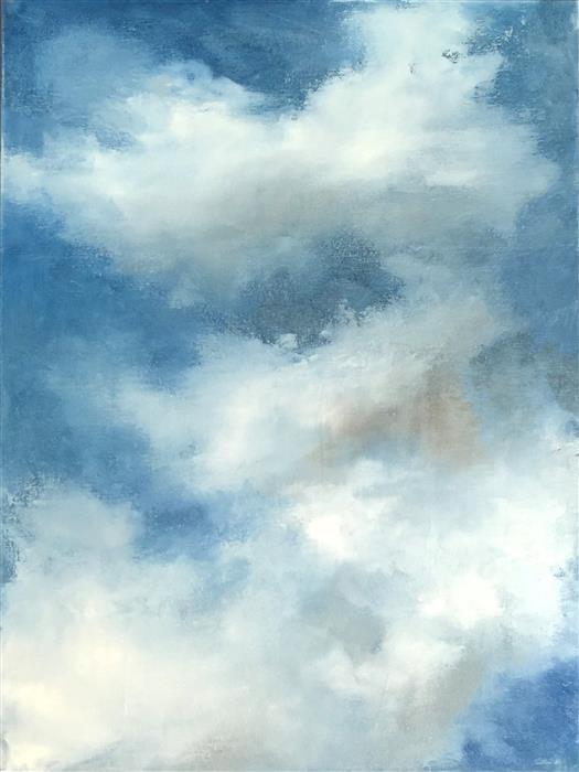 Original art for sale at UGallery.com | As Big as the Sky by FAITH TAYLOR | $3,375 | Oil painting | 48' h x 36' w | http://www.ugallery.com/oil-painting-as-big-as-the-sky