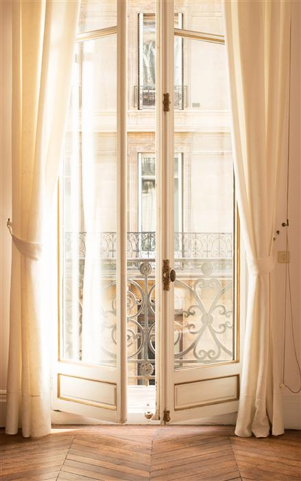Original art for sale at UGallery.com | Paris Apartment Afternoon Light by REBECCA PLOTNICK | $245 |  | ' h x ' w | http://www.ugallery.com/photography-paris-apartment-afternoon-light