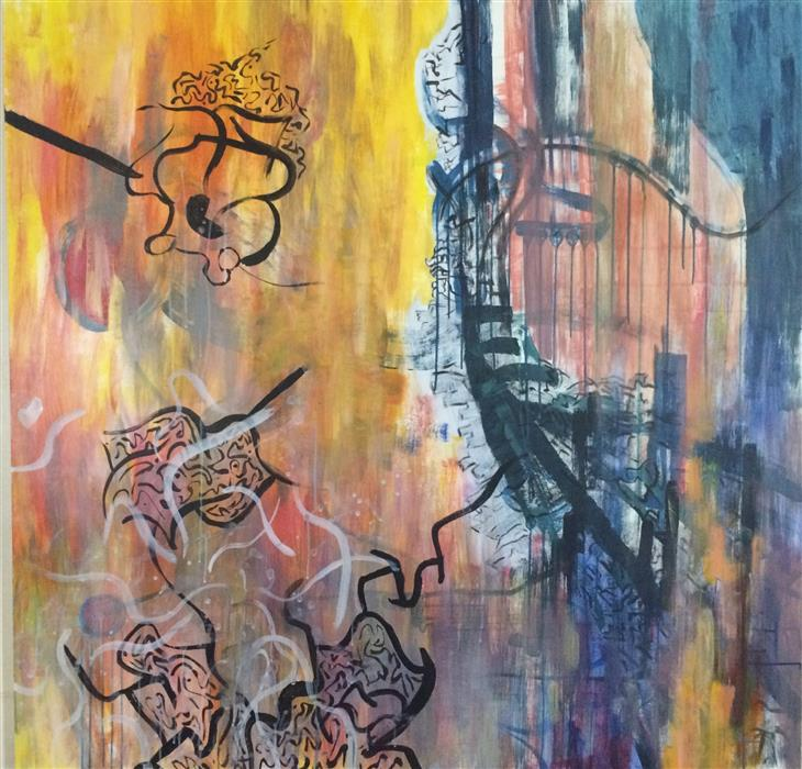 Original art for sale at UGallery.com   Integrated by SHANE KENNEDY   $2,300   Acrylic painting   48' h x 50' w   http://www.ugallery.com/acrylic-painting-integrated