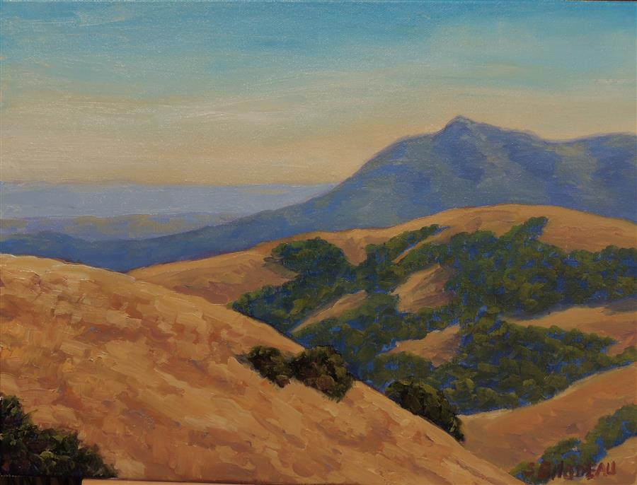 Discover Original Art by Steven Guy Bilodeau | A View of Tamalpais oil painting | Art for Sale Online at UGallery