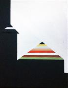 Abstract art,Architecture art,Minimalism art,Non-representational art,Modern  art,oil painting,2016 A