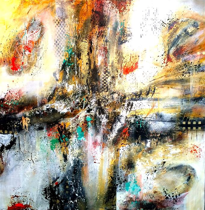 Discover Original Art by DL Watson | Counterpoint acrylic painting | Art for Sale Online at UGallery