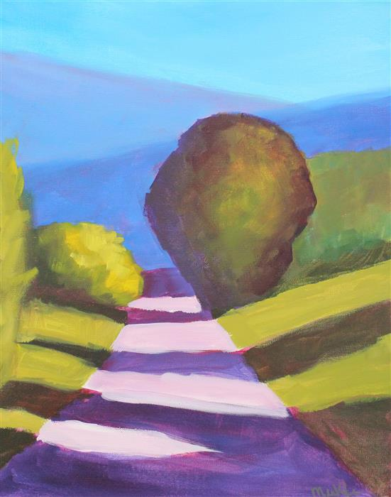 Original art for sale at UGallery.com | Summer Shadows by NANCY MERKLE | $625 | Acrylic painting | 20' h x 16' w | http://www.ugallery.com/acrylic-painting-summer-shadows