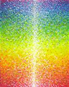 Abstract art,Non-representational art,acrylic painting,Colorful Meditation