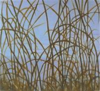 Nature art,Representational art,oil painting,Winter Field I