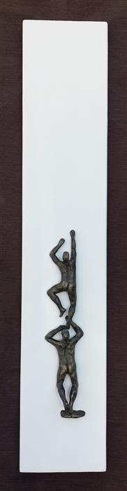 Discover Original Art by Yelitza Diaz | U-12 White Climbers 2 sculpture | Art for Sale Online at UGallery