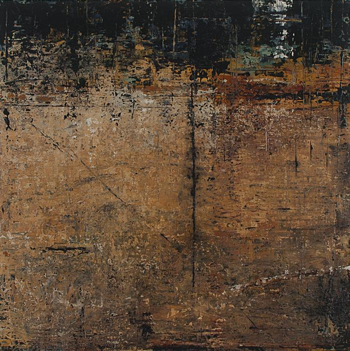 Original art for sale at UGallery.com   The Somnolent Wall by PATRICIA OBLACK   $1,500   Acrylic painting   24' h x 24' w   http://www.ugallery.com/acrylic-painting-the-somnolent-wall