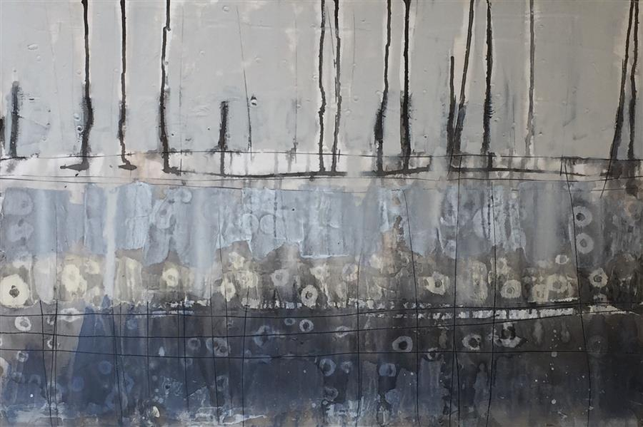 Original art for sale at UGallery.com | Wandering II by PAT FORBES | $925 | Acrylic painting | 24' h x 36' w | http://www.ugallery.com/acrylic-painting-wandering-ii