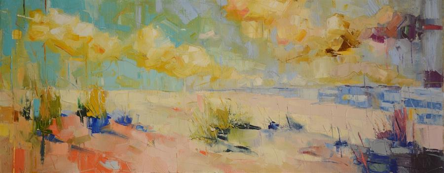 Discover Original Art by Kim McAninch | Dunes XL oil painting | Art for Sale Online at UGallery