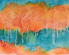 Expressionism art,Impressionism art,Landscape art,Nature art,Representational art,watercolor painting,In Dreamers