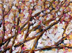 Impressionism art,Nature art,Representational art,acrylic painting,Blossom
